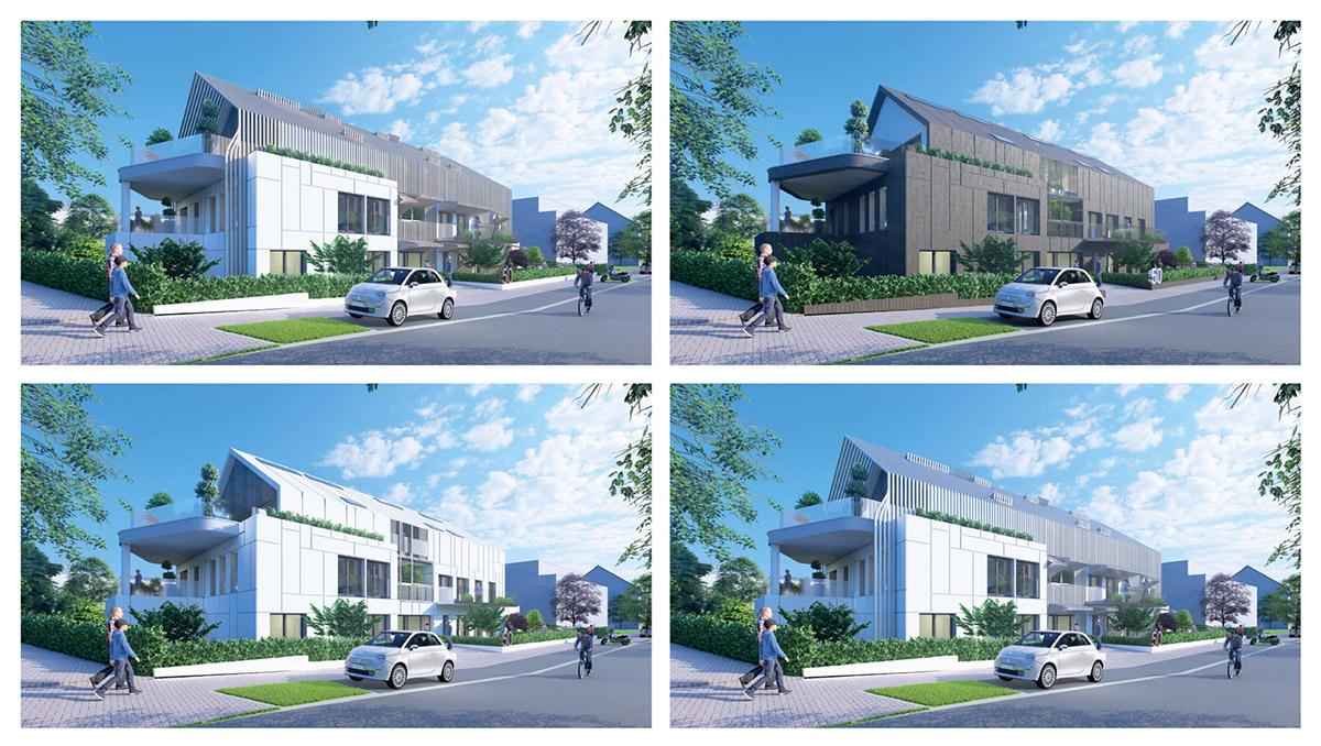 Exemple d'images de synthèse Architecture Moderne - SIA.architects