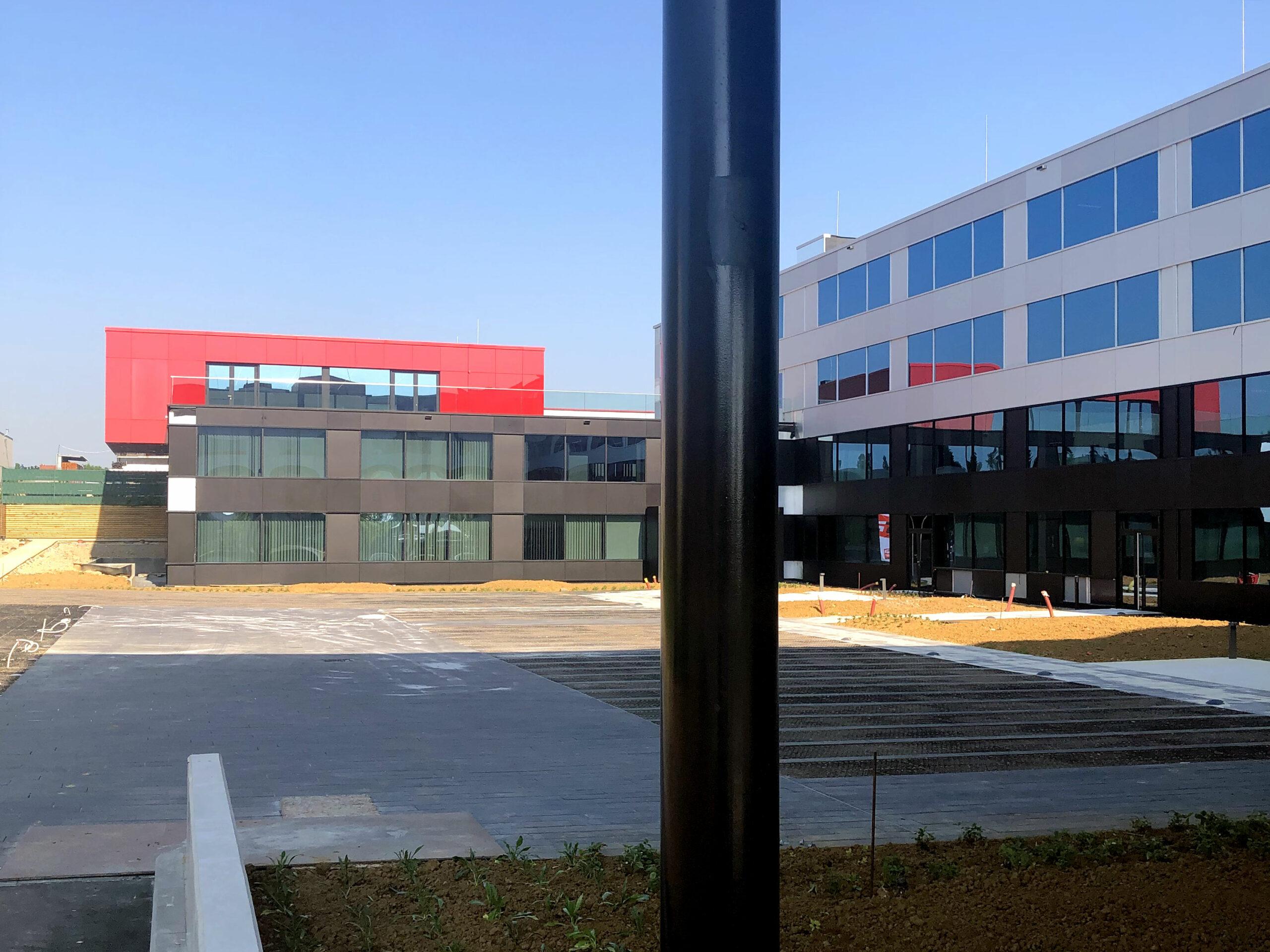 Projet d'architecture de bureaux - WOC
